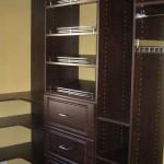 Mahogany Custom Closet