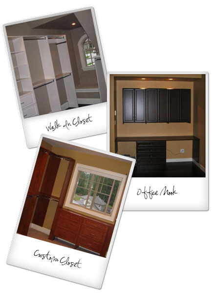 Custom closet & office projects