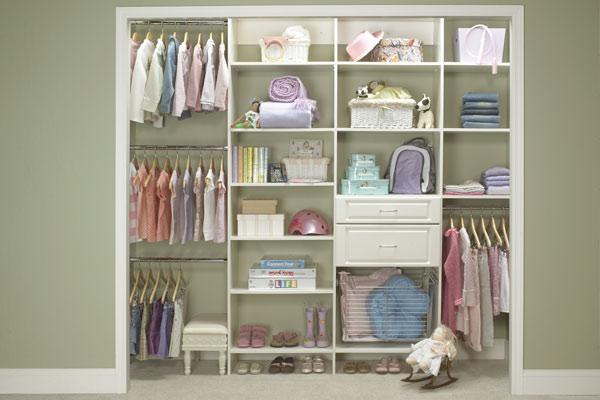 Bon Baby Room Closet