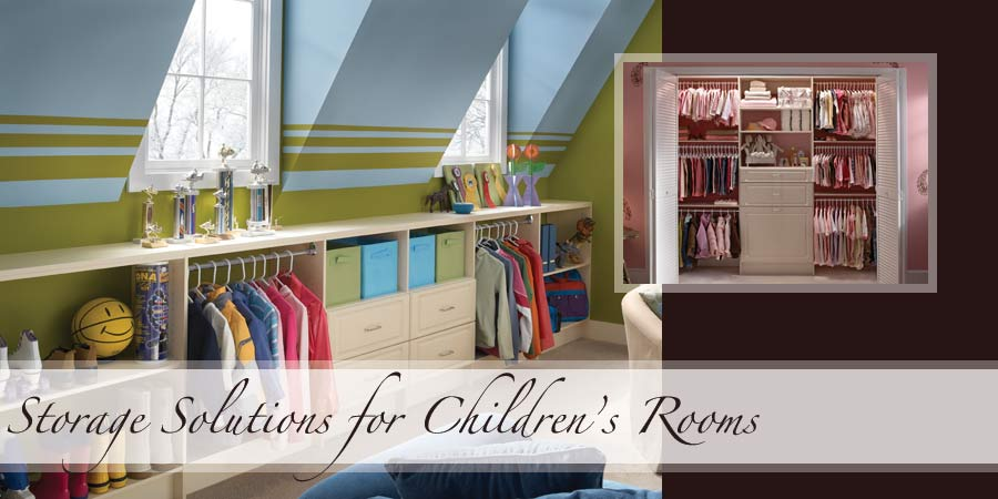 Childrens & Nursery Room Storage