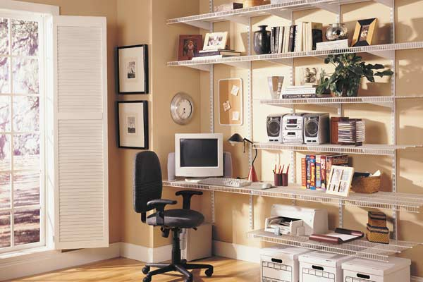 Shelftrack Home Office Storage Solutions