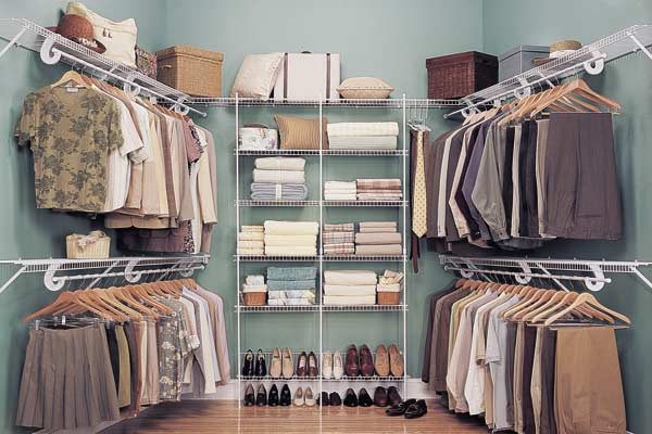 Elite Closets Wire Shelving