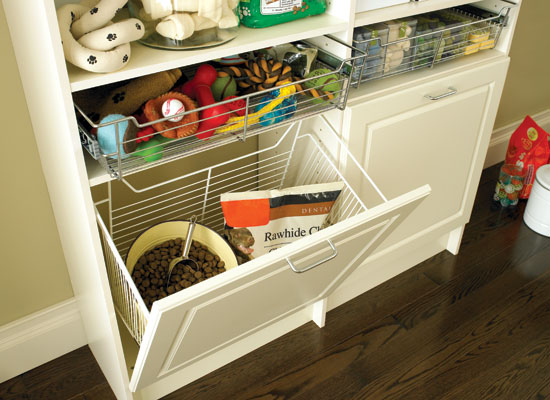 Marvelous Store All Of Your Pet Supplies With Our Pet Storage Solutions