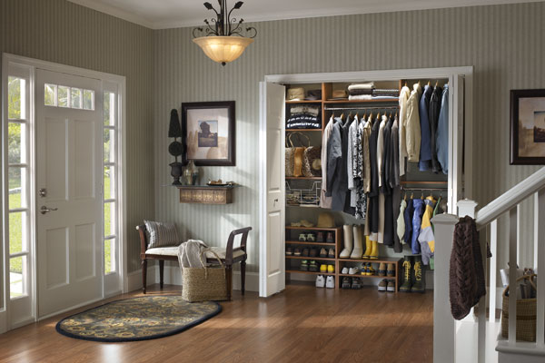 Superieur Entry Closet With Built In Storage