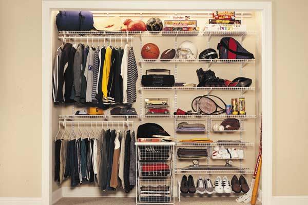 ShelfTrack Teen Closet