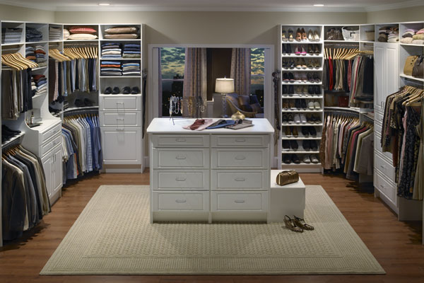 Master bedroom walk in closet designs elegance dream for His and hers walk in closet